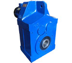 Parallel Shaft Mounted Helical Gear Motor- AF Series with electric motor